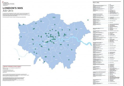 why londons nhs is where it is